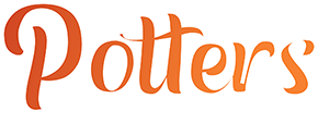 Pool- en Dartcafe Potters Logo